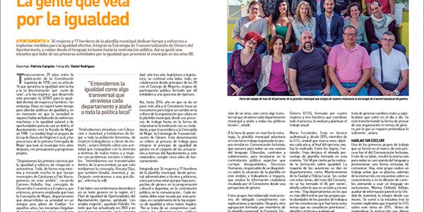 Gente que vela por la igualdad: Avanzando en la Estrategia de transversalidad de género del Ayuntamiento de Rivas Vaciamadrid