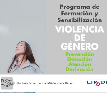 Oferta de formación y sensibilización del personal de la administración local, tanto técnico como político, en la prevención, detección, atención y derivación de los casos de violencia de género